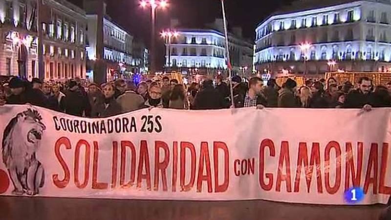 Manifestaciones de apoyo a Gamonal tras el anuncio de paralización de las obras