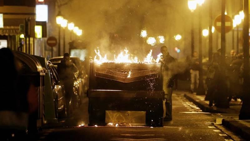 Al menos 19 detenidos en disturbios en varias ciudades tras nuevas manifestaciones en apoyo a Gamonal