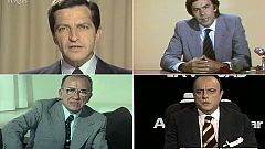 Propaganda electoral de los líderes en las elecciones de 1977