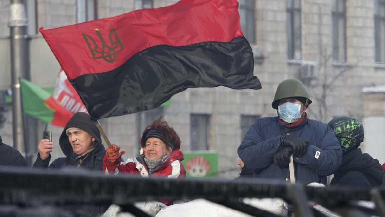 El Parlamento ucraniano debate una ley de amnistía para los participantes en los disturbios