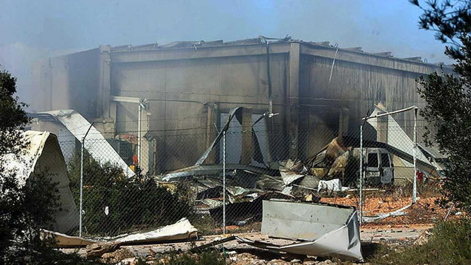 En Tarragona, una persona resulta herida en una explosión en una empresa pirotécnica