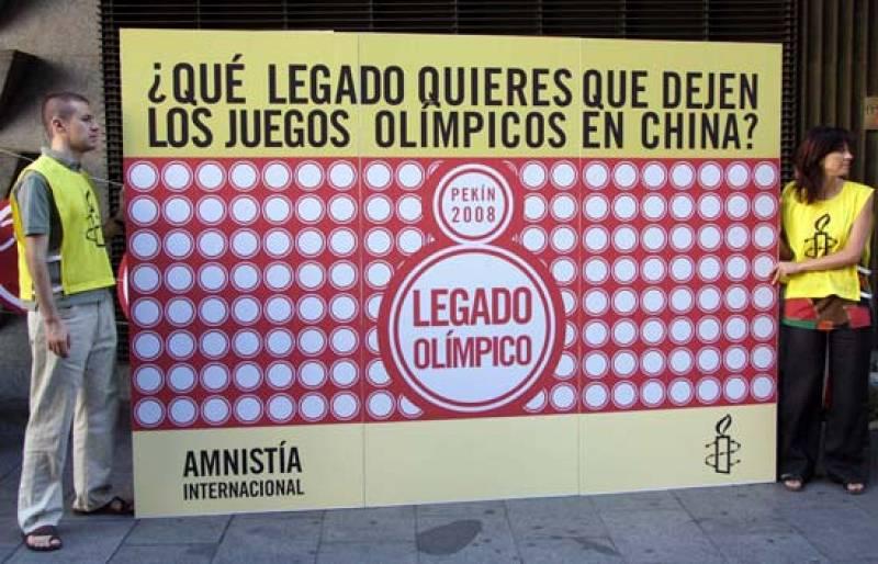 AI de España pide respeto a los derechos humanos en China