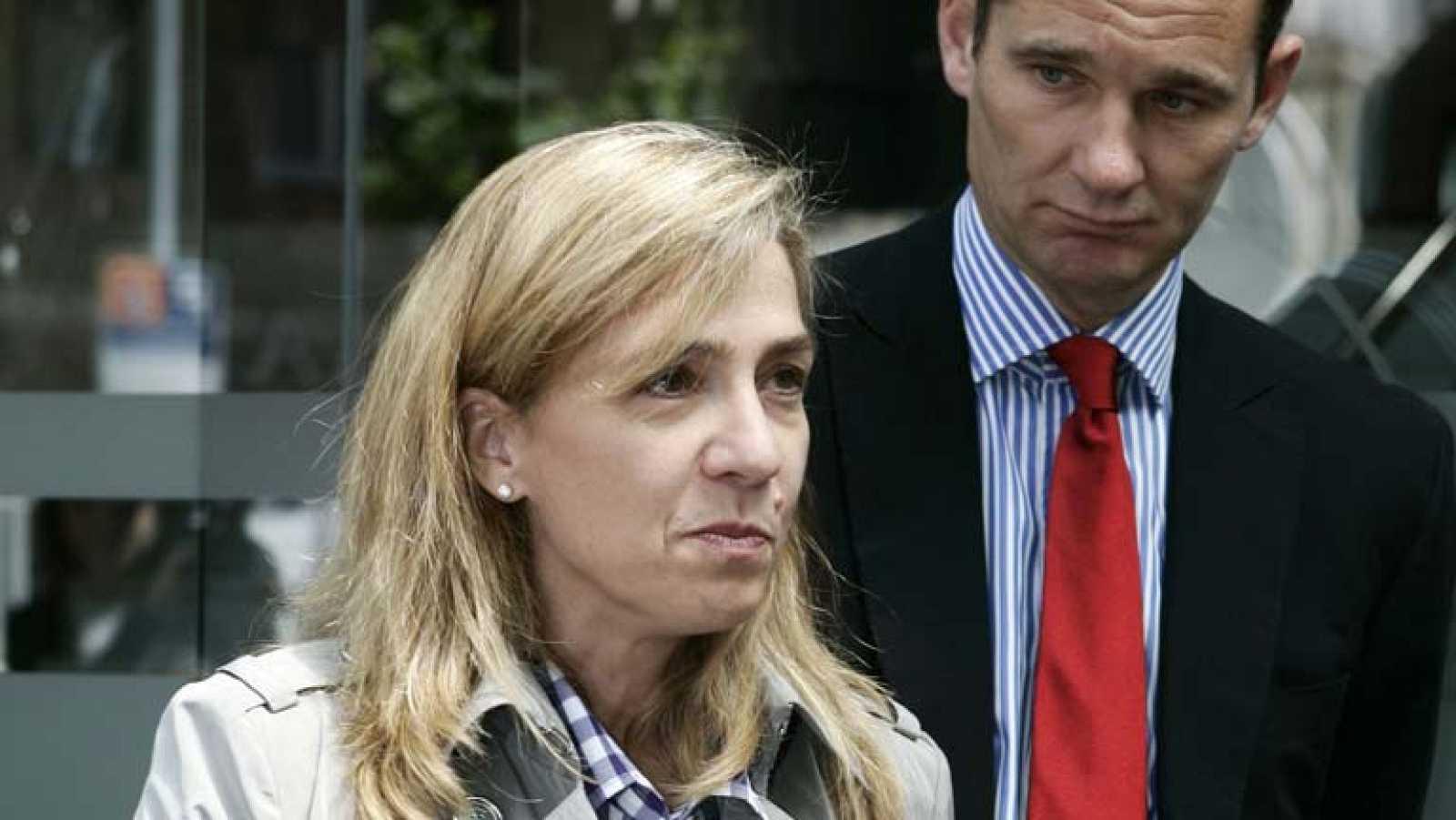 La Policía Nacional recomienda que la infanta Cristina no baje la rampa a pie por seguridad