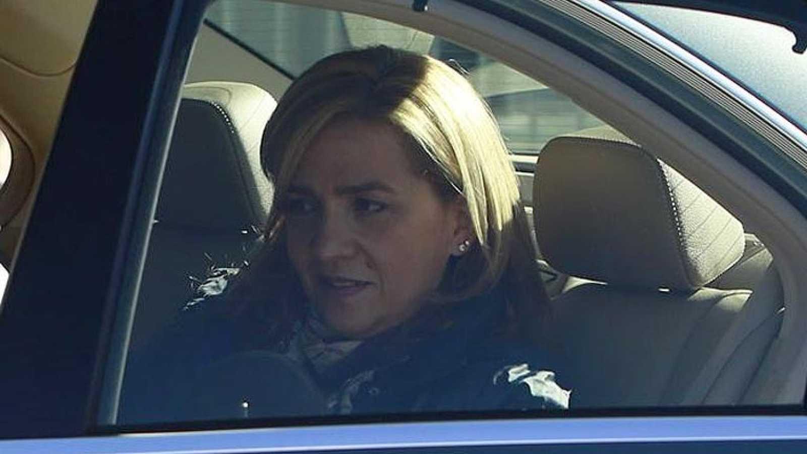La infanta Cristina podrá llegar en coche a la puerta del juzgado