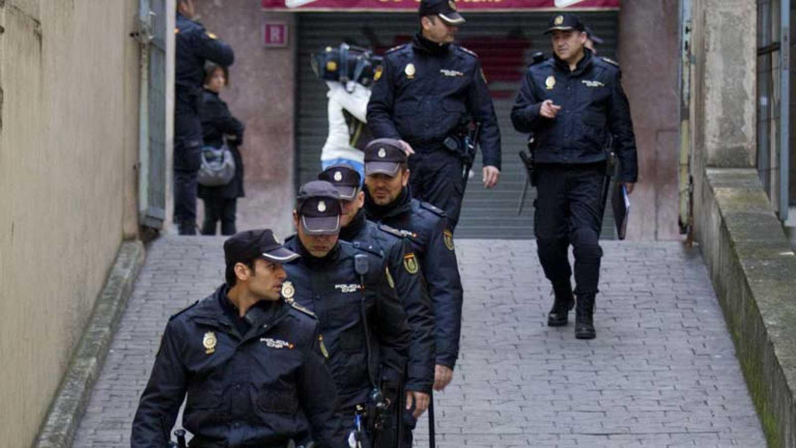 Gran despliegue de seguridad por la declaración de la infanta Cristina en Palma