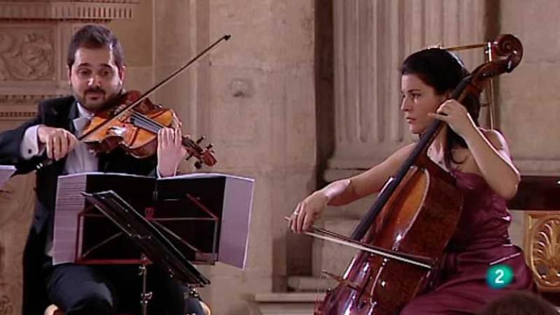 Los conciertos de La 2 - Cuarteto Quiroga Stradivarius (Parte 1ª) - ver ahora