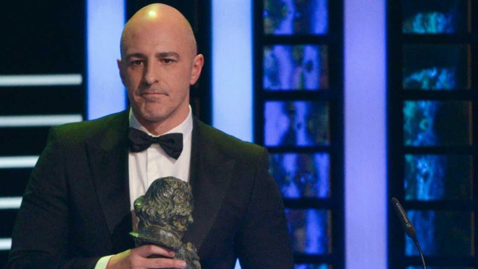 """Roberto Álamo, Goya al mejor actor de reparto por su papel en """"La gran familia española"""""""