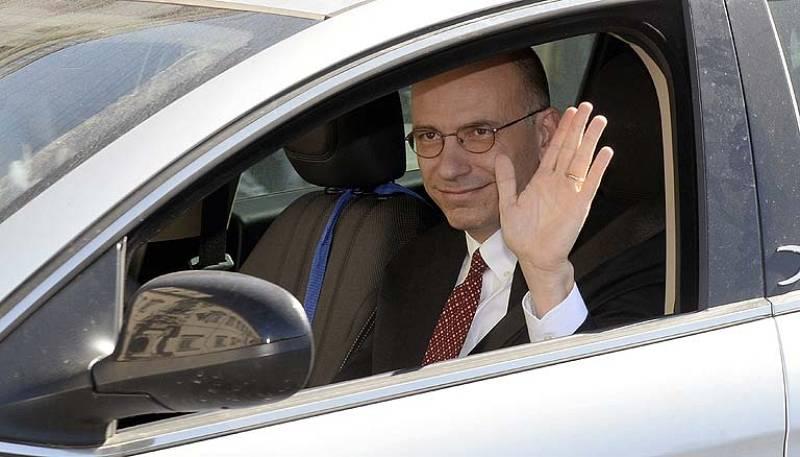 Enrico Letta presenta su dimisión como primer ministro de Italia para dejar paso a Matteo Renzi