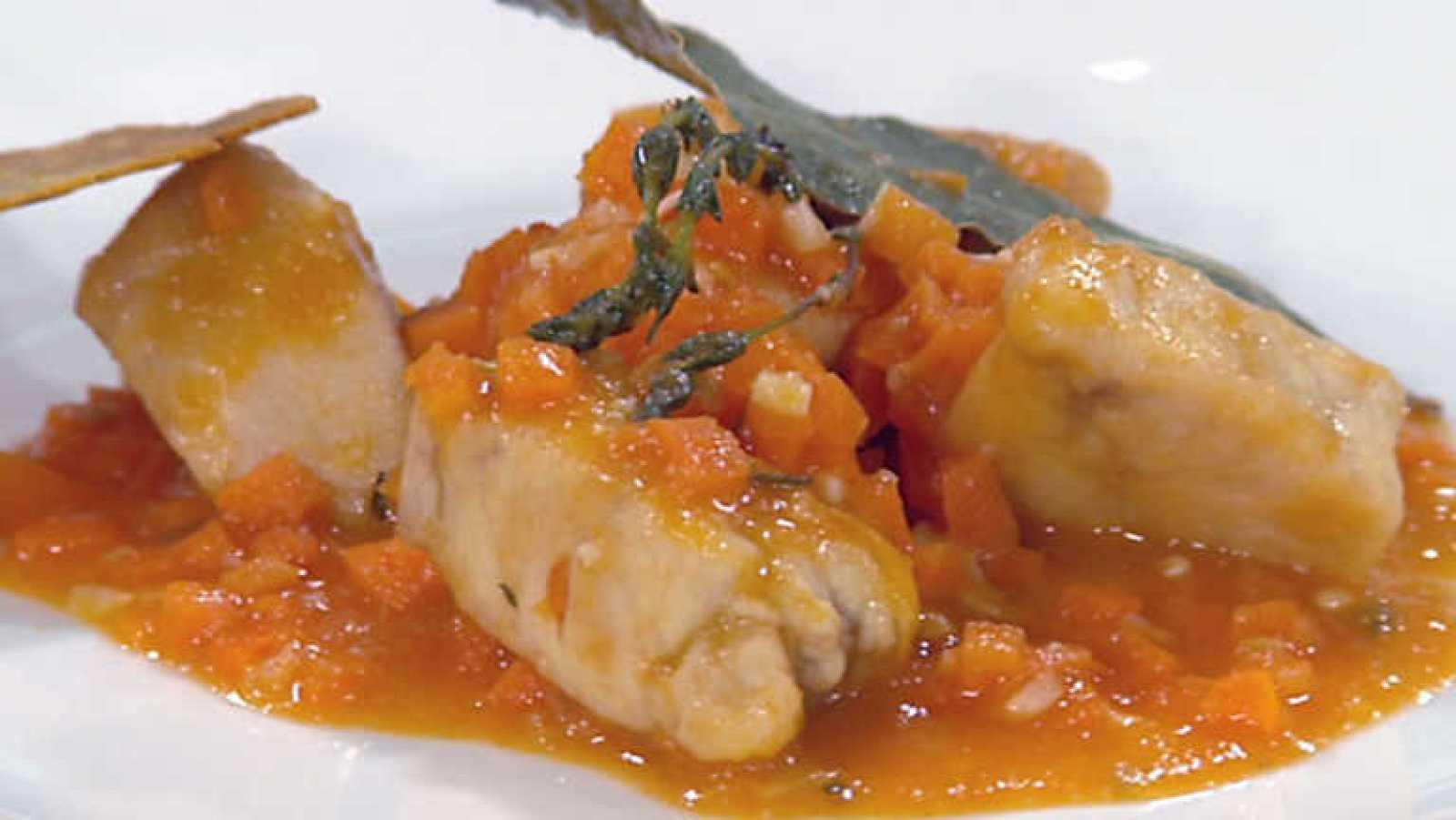 Cocina con Sergio - Pollo al tomillo con crujiente de maíz - ver ahora