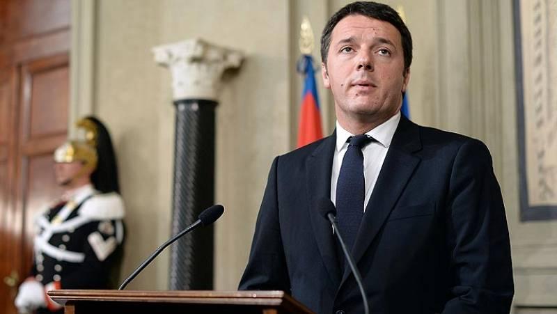 """Renzi acepta """"con reservas"""" el encargo de Napolitano de formar nuevo gobierno en Italia"""
