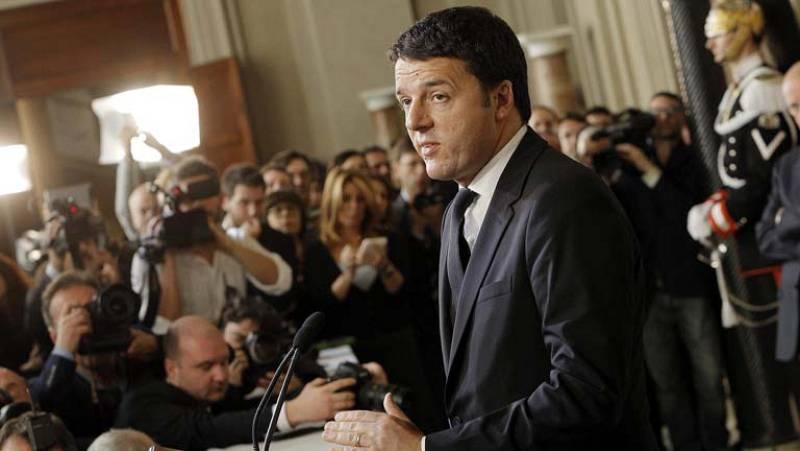 """Matteo Renzi acepta """"con reservas"""" el encargo del jefe del Estado para formar Gobierno"""