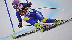 La esquiadora Matsotska deja Sochi por la situación en Ucrania
