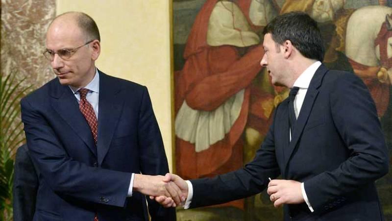 Los nuevos miembros del Gobierno de Italia juran sus cargos ante Giorgio Napolitano