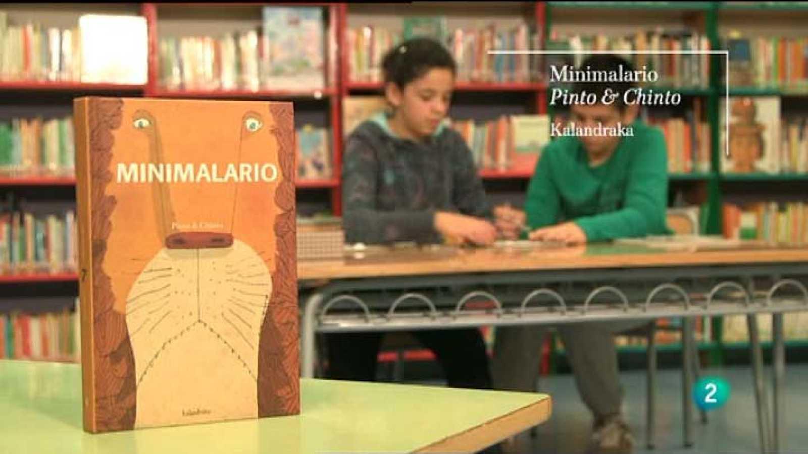 """Página 2 - Miniclub de lectura - """"Minimalario"""" (Kalandraka ) de Pinto & Chinto"""