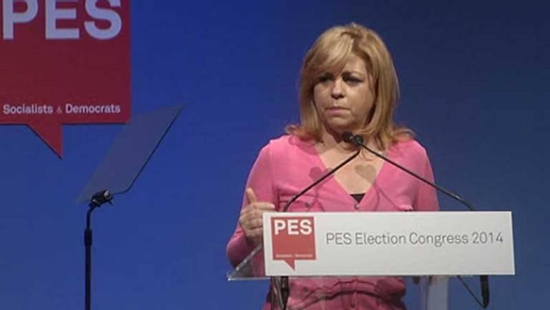 Rubalcaba y Valenciano participan en la cumbre del Partido Socialista Europeo
