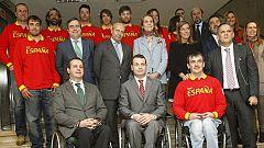 El equipo paralímpico español parte para Sochi
