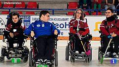 """Telemaratón solidario -   Campeones de España de Hockey sobre silla de ruedas: """"El deporte es beneficioso para todos"""""""