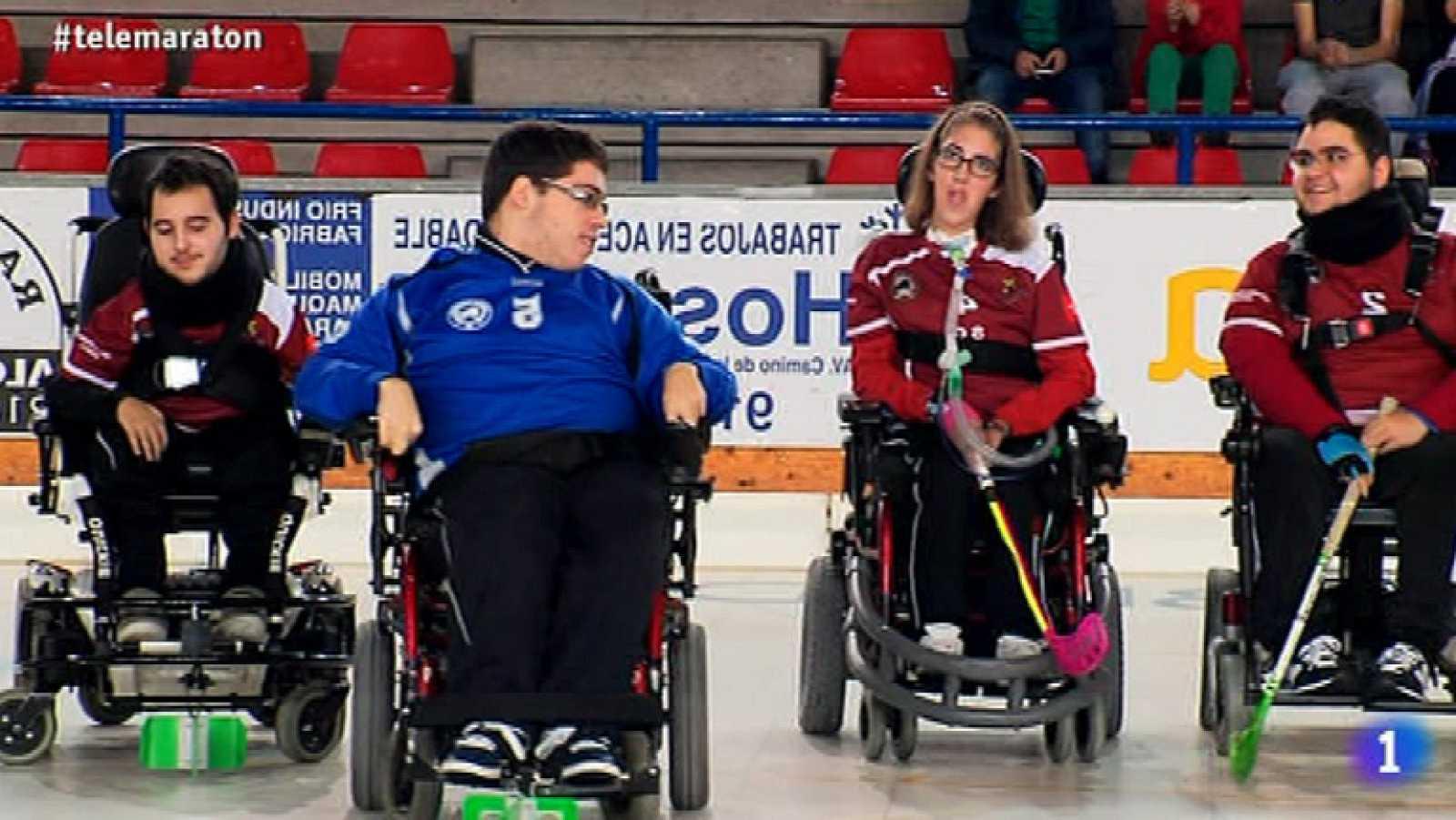 Campeones de España de Hockey sobre silla de ruedas