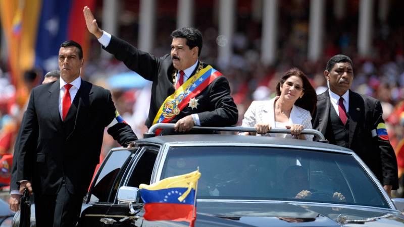 Chávez es recordado un año después de su muerte entre actos chavistas y protestas