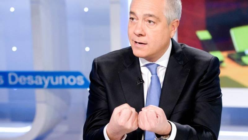 Entrevista a Pere Navarro (PSC) en Los Desayunos de TVE