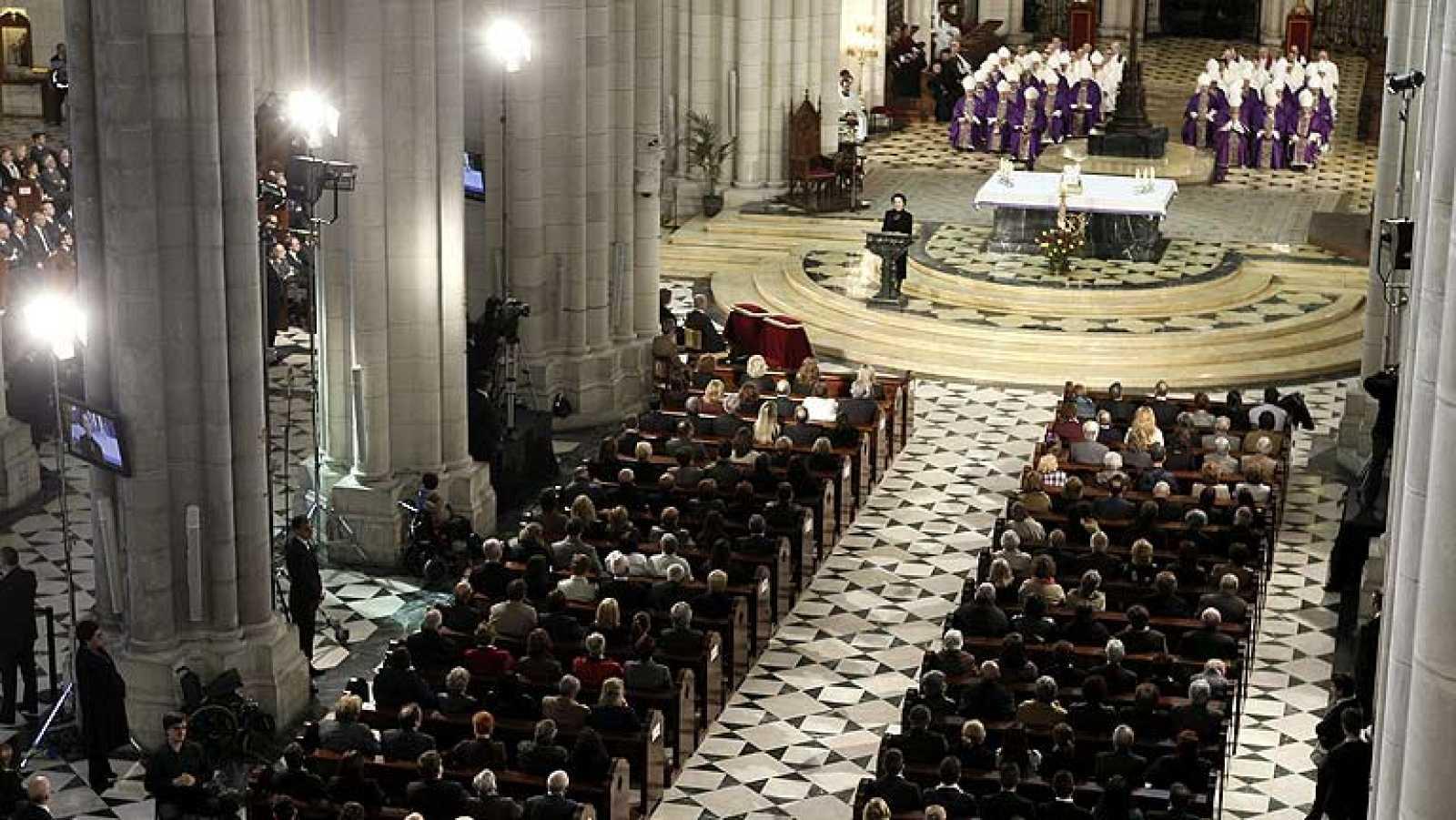 Las víctimas del 11M, unidas en el funeral de Estado diez años después