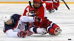 Rusia no culmina con un oro en hockey su dominio en los Paralímpicos