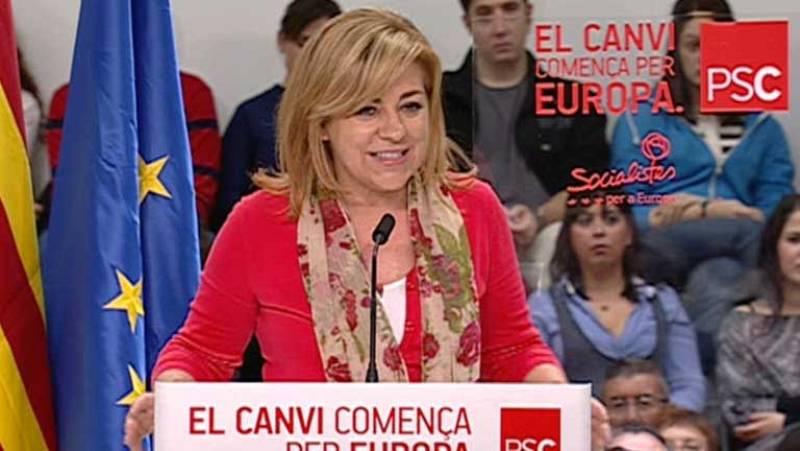 Según Valenciano, una victoria de la derecha haría más dura la segunda parte de la legislatura de Rajoy