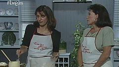 Con las manos en la masa - Ensalada de piña y rollitos de pechuga con Pastora Vega