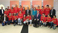 La delegación española, feliz con las tres medallas en los paralímpicos de Sochi