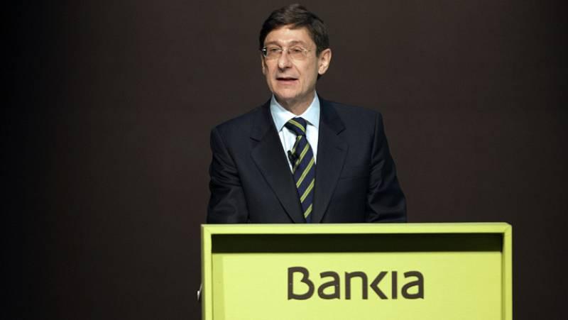Goirigolzarri confía en que Bankia pague dividendo en 2015 para devolver las ayudas