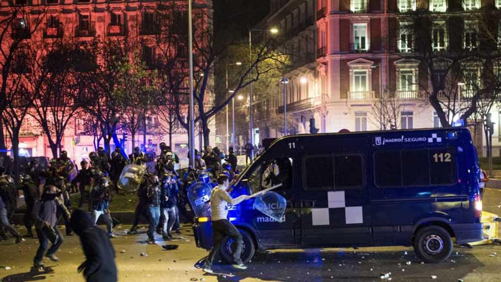 """Al menos 101 heridos y 24 detenidos en disturbios tras las """"Marchas por la Dignidad"""""""