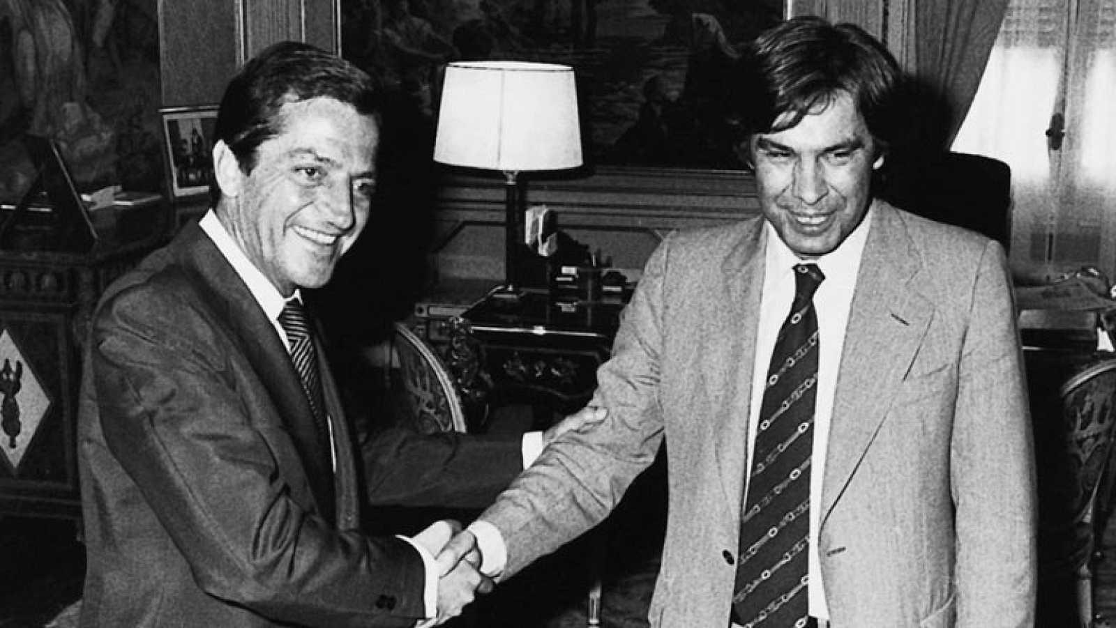Suárez, un presidente carismático a quien no se lo pusieron fácil