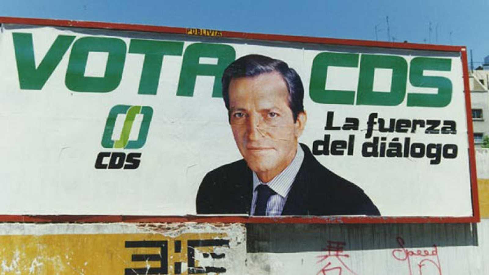 La creación del CDS, una aventura política para Adolfo Suárez