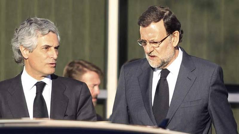 Numerosas personalidades despiden a Adolfo Suárez