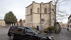 Adolfo Suárez recibirá sepultura en la catedral de Ávila junto a los restos de su mujer