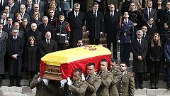 Último adiós a Adolfo Suárez en las calles de Madrid