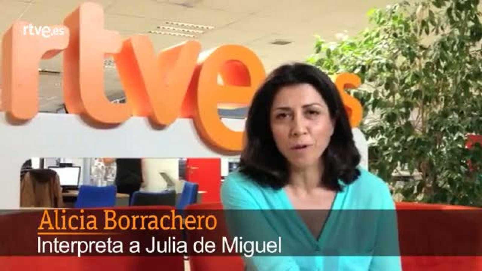 Alicia Borrachero, una víctima muy especial en 'Los Misterios de Laura'