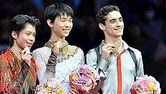 Javier Fernández, tercero en los Mundiales de Saitama