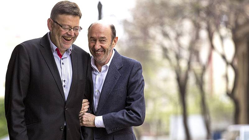 Rubalcaba pone en duda el anuncio del PP sobre la bajada de impuestos
