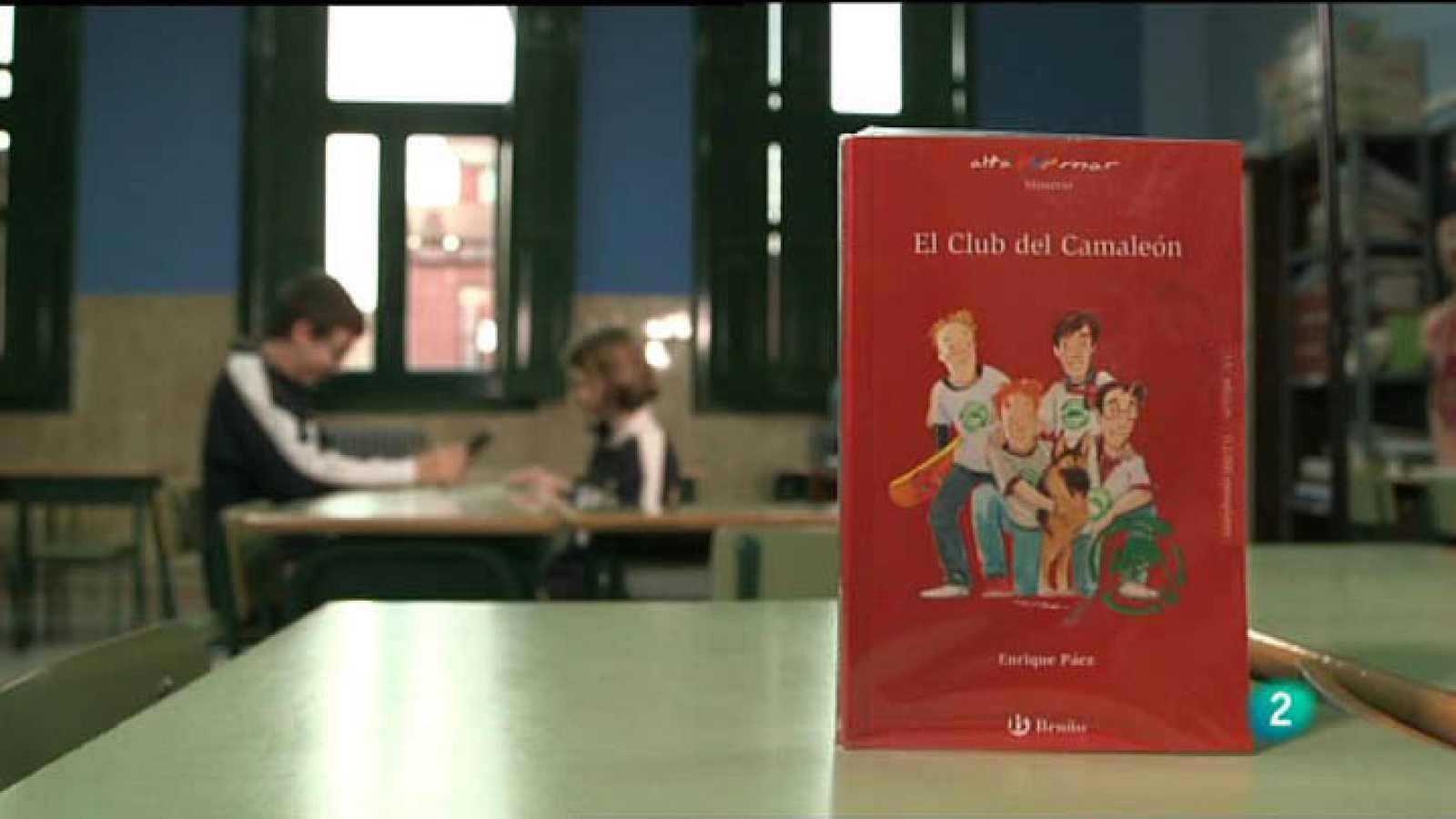 """Página 2 - Miniclub de lectura - """"El Club del Camaleón"""" (Bruño) de Enrique Páez"""