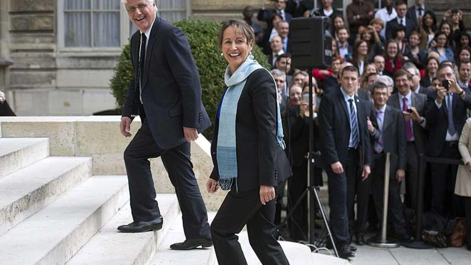 Ségolène Royal ocupará la cartera de Ecología en el nuevo gobierno francés