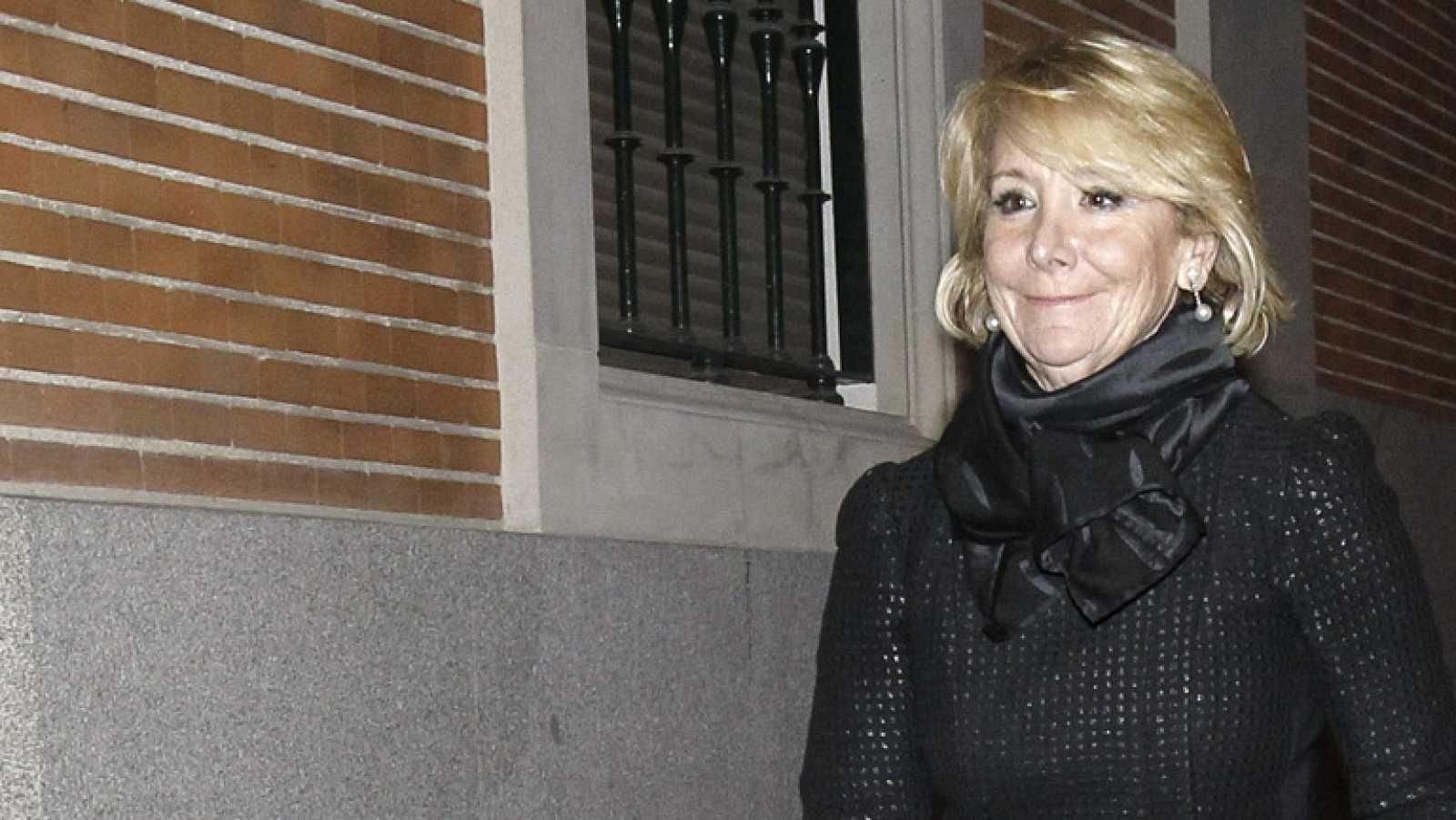 """Esperanza Aguirre: """"La clave de este asunto es que yo soy conocida"""""""
