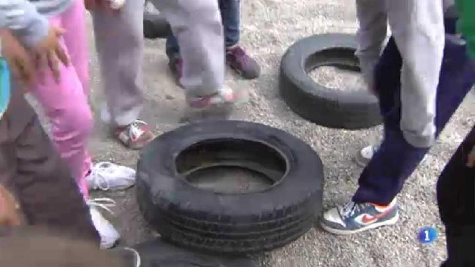 Els nens ajuden en la lluita contra el mosquit tigre a Girona
