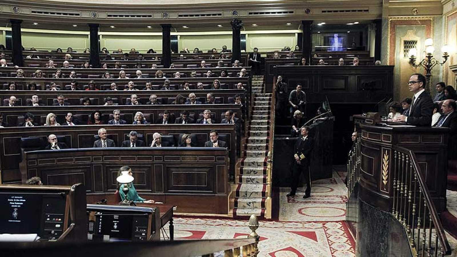 El Congreso rechaza ceder las competencias a la Generalitat para celebrar la consulta soberanista