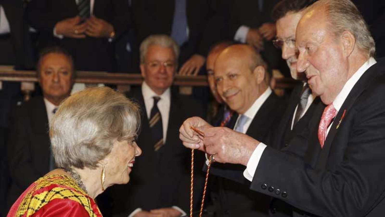 Gala de entrega del Premio Cervantes