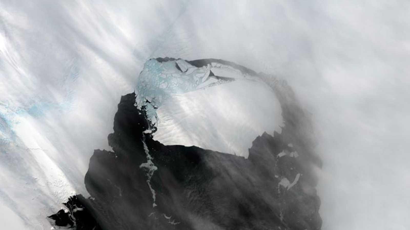 La NASA vigila un iceberg desprendido en la Antártida de 660 kilómetros cuadrados
