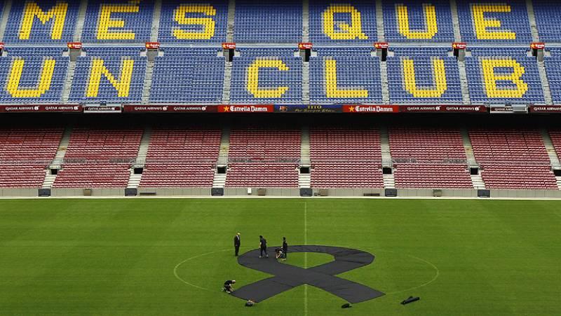 El Barça rinde homenaje a Tito Vilanova