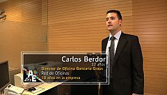 Carlos Berdor (32 años) Director de Oficina Local