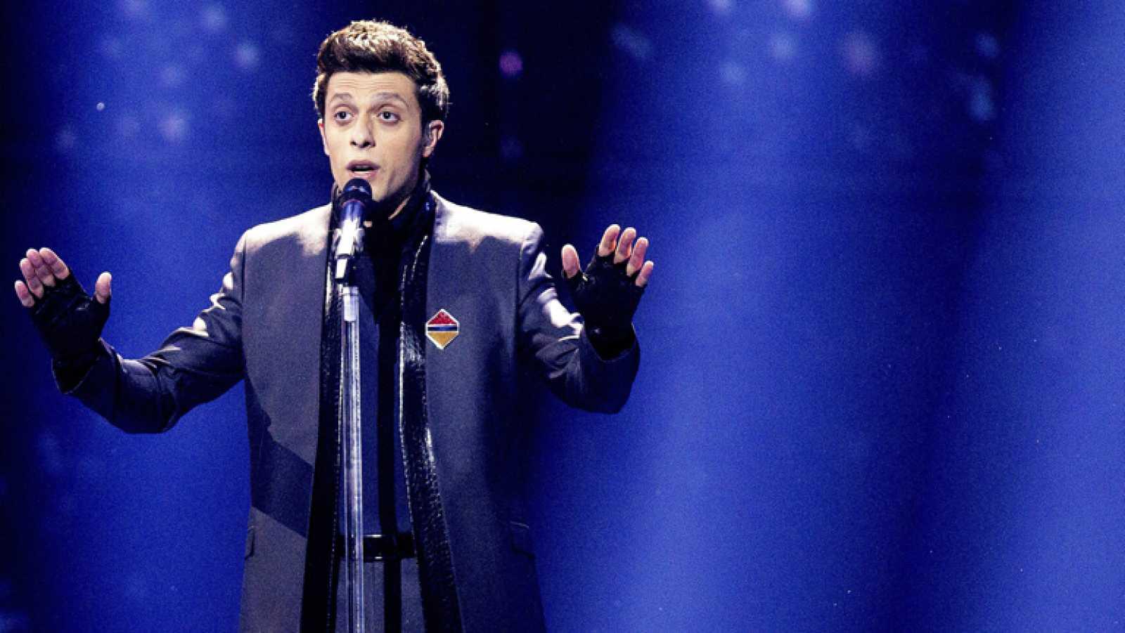 """Eurovisión 2014 - Aram Mp3 representa a Armenia con la canción """"Not alone"""""""