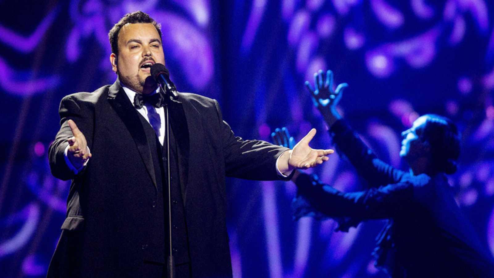 """Eurovisión 2014 - Axel Hirsoux representa a Bélgica con la canción """"Mother"""""""